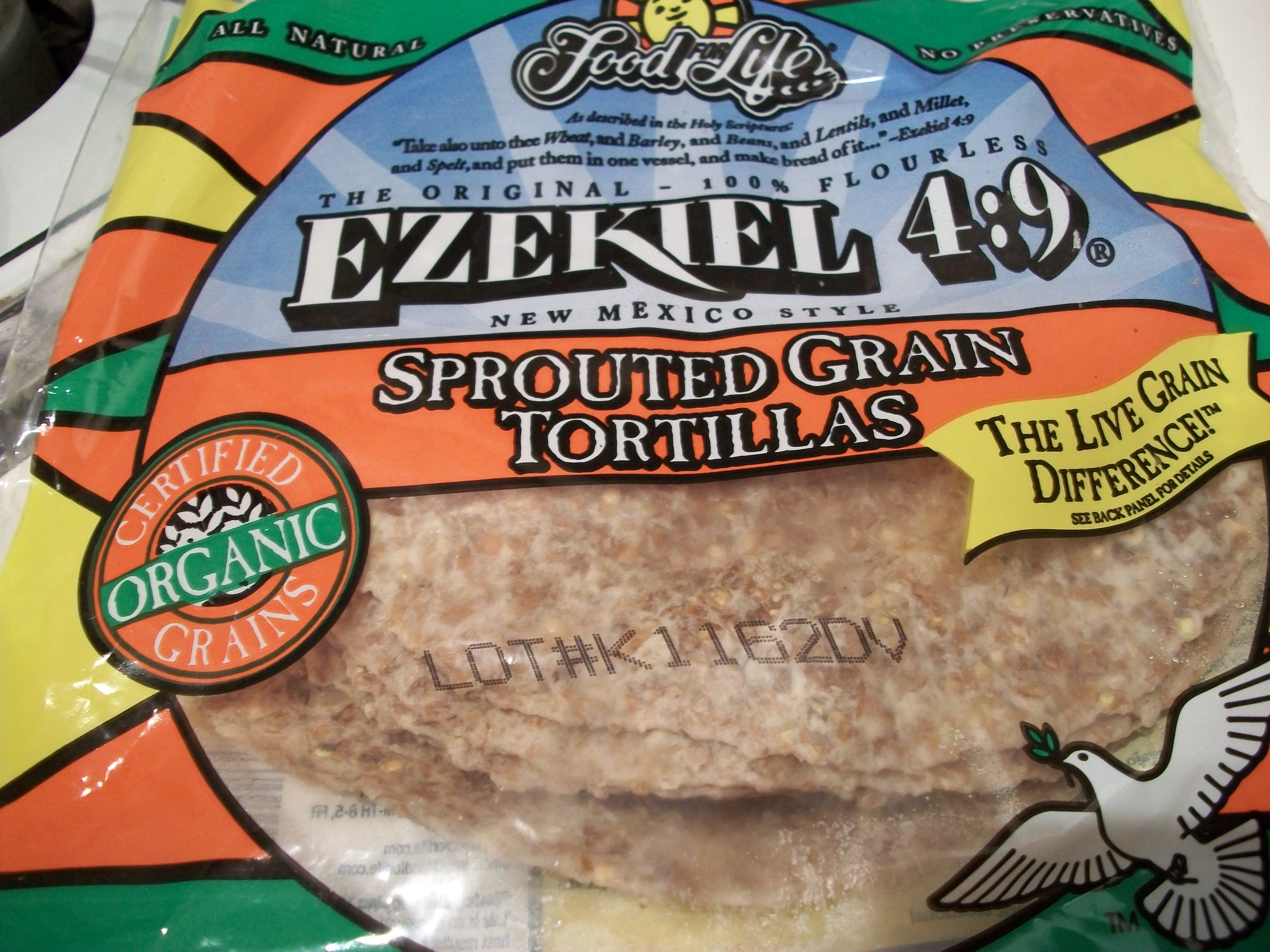Sprouted Grain Tortillas Whole Foods